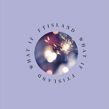 FTISLAND [WHAT IF] 6th Mini Album CD+POSTER+PhotoBook+Card+Lens+BookMark SEALED