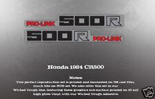 HONDA 1984 CR500 SWINGARM DECAL GRAPHIC LIKE NOS