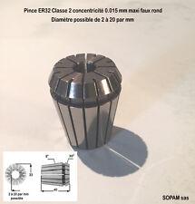 PINCE ER32 ESX32 CLASSE 2 NEUVE DIAMETRE 2 A 20 PAR MM PRIX TTC