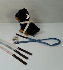 Collare Pettorina a scorrimento cani LARIUS 85 cm Mimetico Scozzese Jeans M228