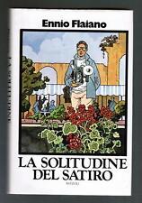 ennio flaiano LA SOLITUDINE DEL SATIRO rizzoli 1973 I edizione