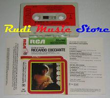 MC RICCARDO COCCIANTE Cose da cantare 1981 ITALY RCA NK 33182 no cd lp dvd vhs*