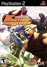 Capcom Fighting Evolution (Sony PlayStation 2, 2004)M