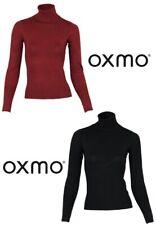 Oxmo Suéter De Mujer glitz-r10 Cuello Cisne ocio manga larga party clubwear