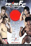 Pride FC - Bushido, Vol. 3 (BRAND NEW DVD) FREE SHIPPING !!