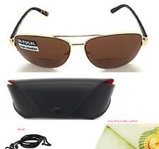 d6f91eb511 Gafas de sol para hombres Para mujeres Aviador Bifocal Premium 100% UV  Bloque/1.5, 2.0, 2.5 3.0