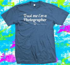 Fidatevi sono un fotografo-T shirt - 8 opzioni relative al colore-Piccolo A 3XL
