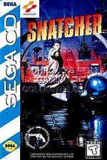 RGC Huge Poster - Snatcher Sega CD BOX ART - SCD011