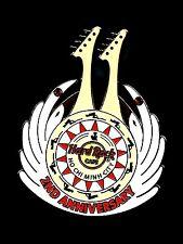 Hard Rock Cafe Ho Chi Minh City 2ND Anniversary. Pin. RARE (P. HCM Box)