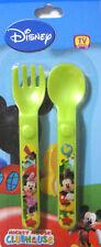 New Disney Minnie/Mickey Mouse Spoon & Fork Set