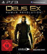 PS3 / Sony Playstation 3 Spiel - Deus Ex: Human Revolution (mit OVP)(USK18)