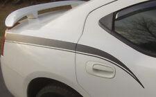 2006-2010 Dodge Charger Rear Quarter Panel Side Stripes Decals 2007 2008 2009