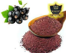 Freeze Dried Blackcurrant Fruit Powder Lollies Jelly Shakes Cake Smoothies Juice