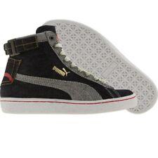 $150 Puma Evisu High denim fashion sneakers 341157-01 Men size 4 5 6
