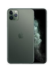 Apple iPhone 11 Pro Max Smartphone 64GB 256GB 512GB Midnight Green AT&T