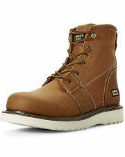 "Ariat Work Men's Rebar Wedge 6"" H2O Composite Toe Construction Boot"