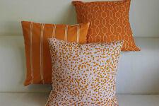 "Art Orange Home Decor Cotton CUSHION COVER Throw PILLOW CASE 18"""