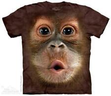 Big Face Baby Orangutan The Mountain T-Shirt (3587) All Sizes