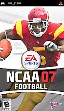 NCAA Football 07 UMD PSP GAME SONY PLAYSTATION PORTABLE 2007 2K7