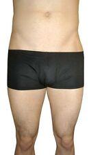 Para Hombre Negro Sexy Sheer escuetos viscosa y elastano Bolsa Boxer Shorts S M L Xl Xxl