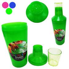 Shaker Cóctel 500ML de Plástico Mezclador Chupito Fiesta Barman Alcohol 3233