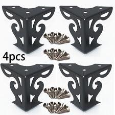 4pcs European Cool Pattern Furniture Sofa Chair Metal Feet Legs Home Decor