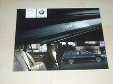 38705) BMW 3er Reihe E91 individual Prospekt 2007