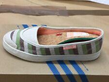ADIDAS Miele Pantofola VERDE W Scarpe Sneaker Ciabatte scarpe di tela 031101