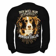 Pullover Sweatshirt Border Collie hunde dogs haustier zucht welpen rasse familie