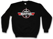 RED FIVE ALLIANCE SWEATSHIRT Star Skywalker X-Wing Rebel Wars Sweat Pullover