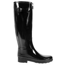 Hunter Original Refined Gloss Rubber Knee-high Wellies Womens Boots