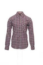 EQ by Equilibrio Purple Button Down Shirt