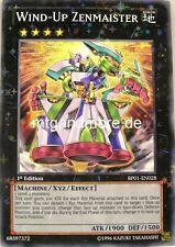 Yu-Gi-Oh 1x Wind-Up Zenmaister - BP01 - Starfoil Rare Battle Pack
