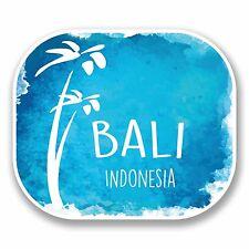 2 x 10cm Bali Indonesia Vinyl Sticker Decal Laptop Luggage Travel Tag Gift #9680