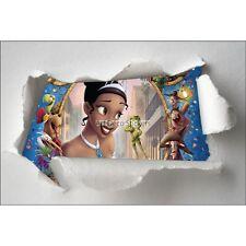 Adesivi bambino carta strappato Principessa ref 7646