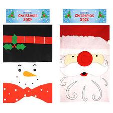 Henbrandt Grande Tela Regalo Navidad Saco - 68cm x 47cm - Elegir Diseño