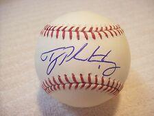 TYLER PASTORNICKY ATLANTA BRAVES SIGNED MLB BASEBALL W/COA