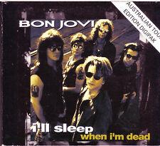 Bon Jovi I'll Sleep When I'm Dead Australian Tour CD Digipak