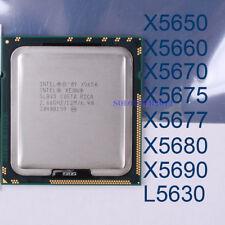 Intel Xeon X5650 X5660 X5670 X5675 X5677 X5680 X5690 L5630 LGA1366 CPU Processor