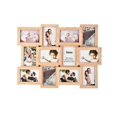 12 Marco de MDF de imágenes grandes de múltiples fotos Collage Abertura Pared Decoración Recuerdos X 1
