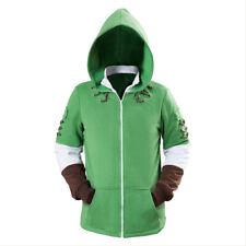 The Legend of Zelda Link Hoodie Halloween COSplay Costume Uniform Jacket Coat