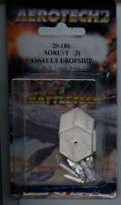 Battletech Aerotech 2 Noruff Assault Dropship (3) MINT Iron Wind Metals