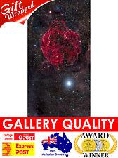 NEW Spaghetti Nebula, NASA Space, Hubble Telescope, Giclee Art Print or Canvas