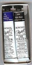 Daler-Rowney Oil Paint-French Ultramarine & Lamp Black