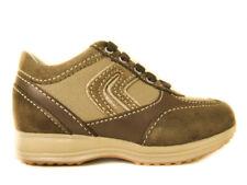 Geox Happy b9156b brown scarpe alte con i lacci da bambino