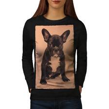 Bulldog Photo Dog Animal Women Long Sleeve T-shirt NEW | Wellcoda