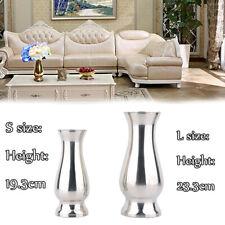 Luxury Flower Vase Urn Wedding Table Centrepiece Stainless Steel Silver