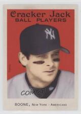 2004 Topps Cracker Jack #230 Aaron Boone New York Yankees Baseball Card