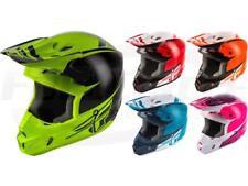 Fly Racing Kinetic Sharp Helmet Motocross Dirt Bike Offroad MX ATV Snowmobile