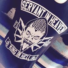 SERVANT IN HEAVEN KING IN HELL TEE biker vintage devil satan patch shirt harley
